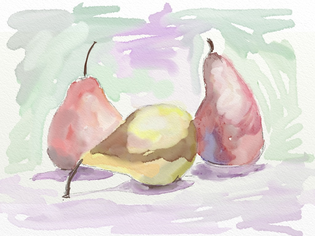 The pale pears